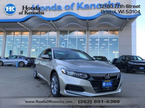 New 2018 Honda Accord LX Sedan FWD Sedan