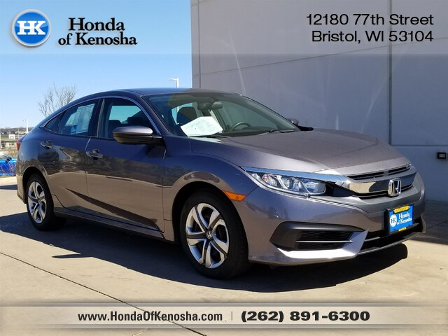 Certified Pre Owned 2016 Honda Civic Lx