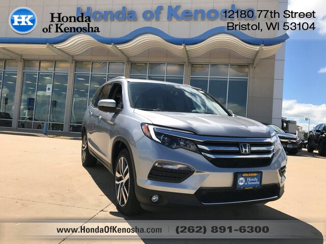 New 2018 Honda Pilot AWD Elite