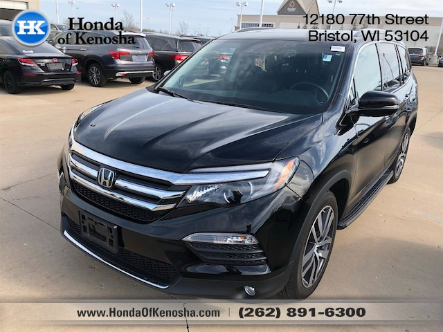 Certified Pre Owned 2016 Honda Pilot Elite Suv In Bristol 180555a