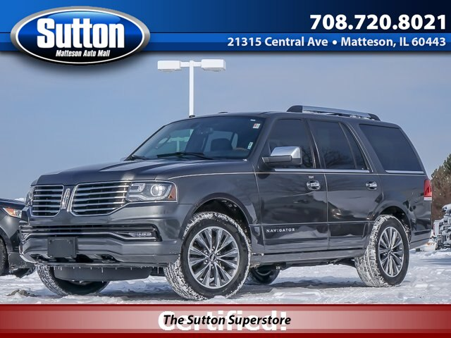Certified Pre-Owned 2016 LINCOLN Navigator Select