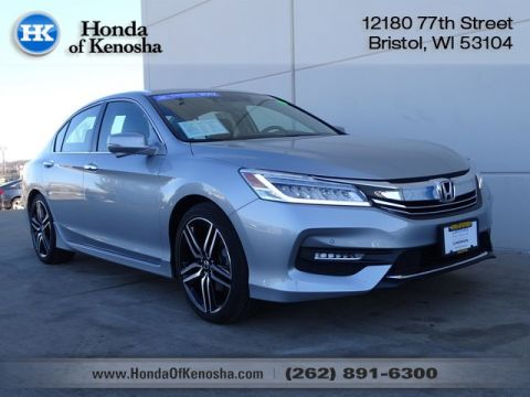 Certified Pre-Owned 2017 Honda Accord Touring V6