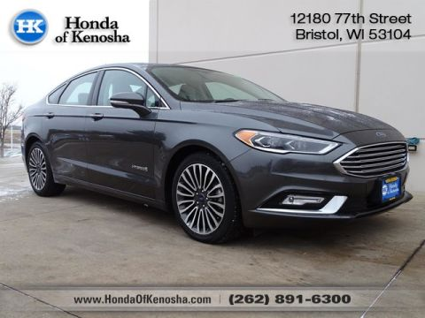 Pre-Owned 2017 Ford Fusion Hybrid Titanium Hybrid