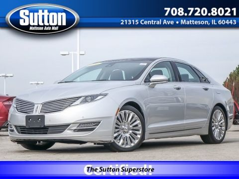 Certified Pre-Owned 2016 LINCOLN MKZ