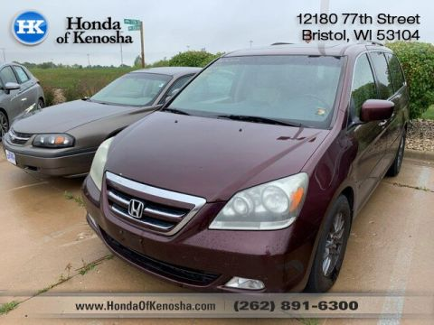 Pre-Owned 2007 Honda Odyssey Touring w/DVD RES