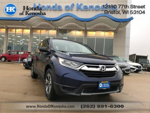 New 2017 Honda CR V AWD LX